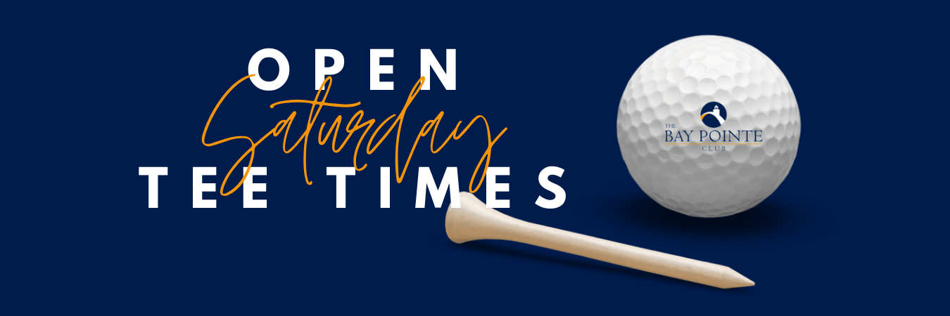 Open Tee Times