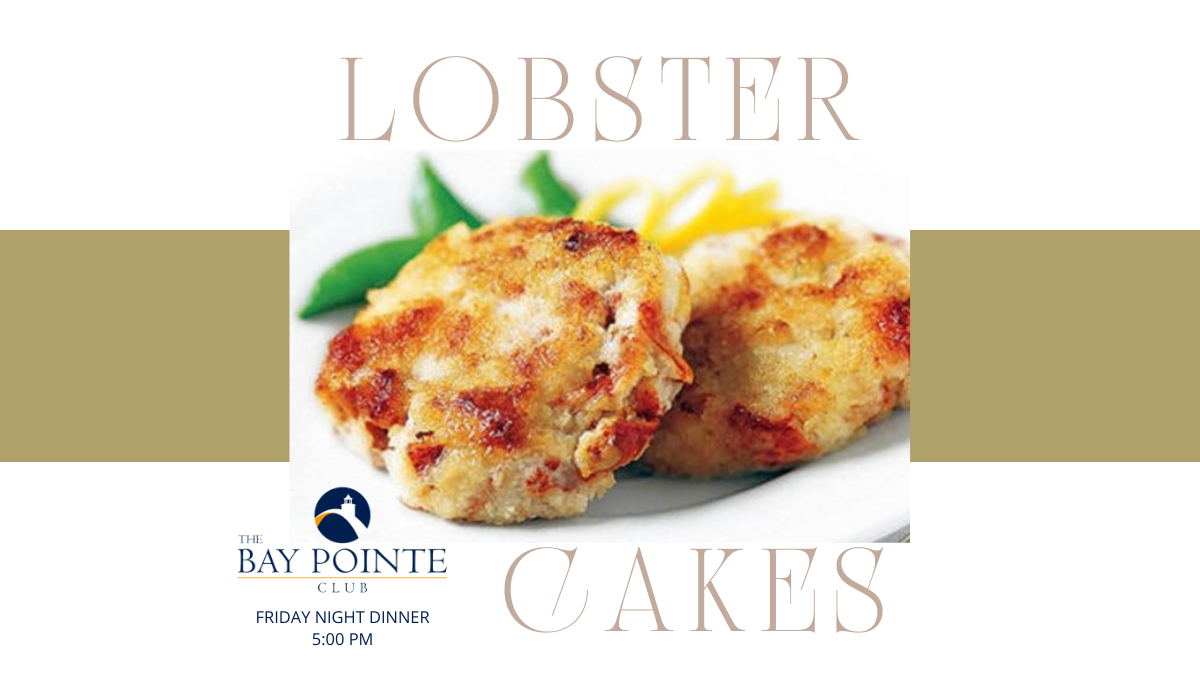 Lobster Cakes are Back!
