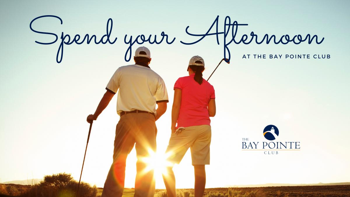 Enjoy afternoon Golf