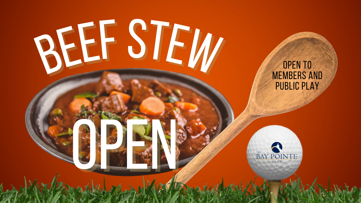 The Beef Stew Open is coming!